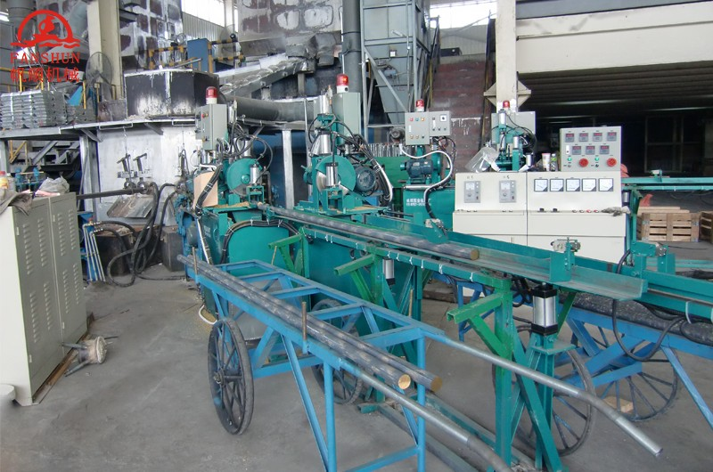 Horizontal continuous casting machine for bronze rods,copper rods production line manufacturers-6