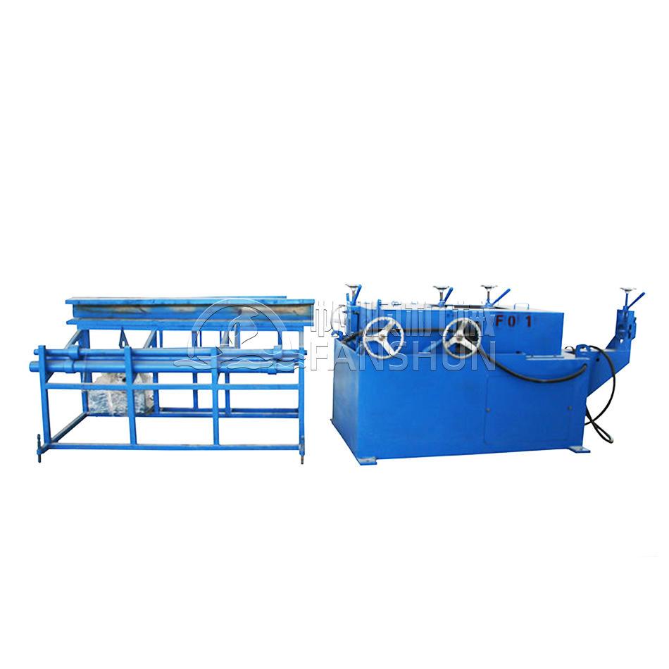 Φ15-60mm Two Wheels Round Bar Straightening Machine