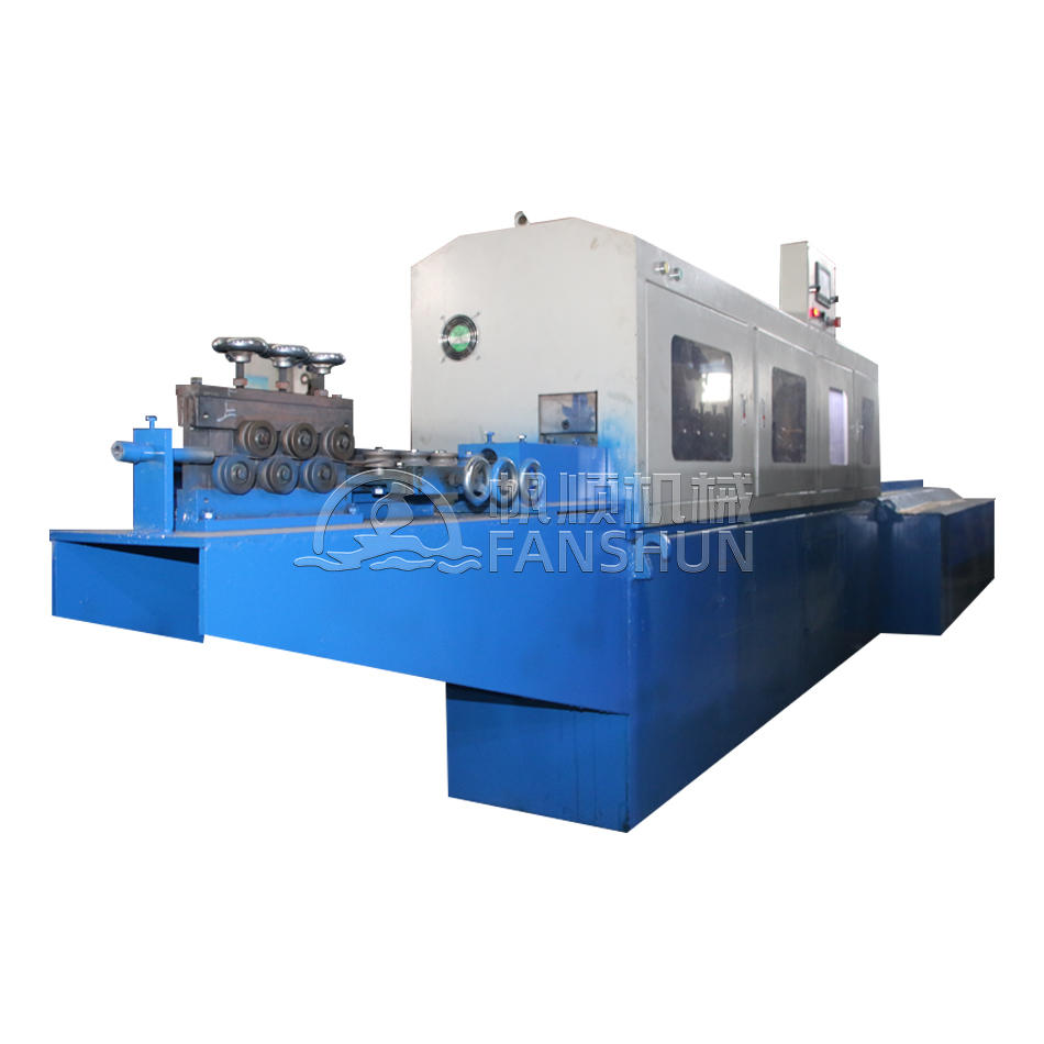 Wire drawing straightening and cutting machine