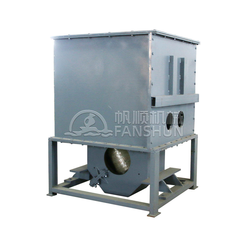Horizontal continuous casting holding furnace