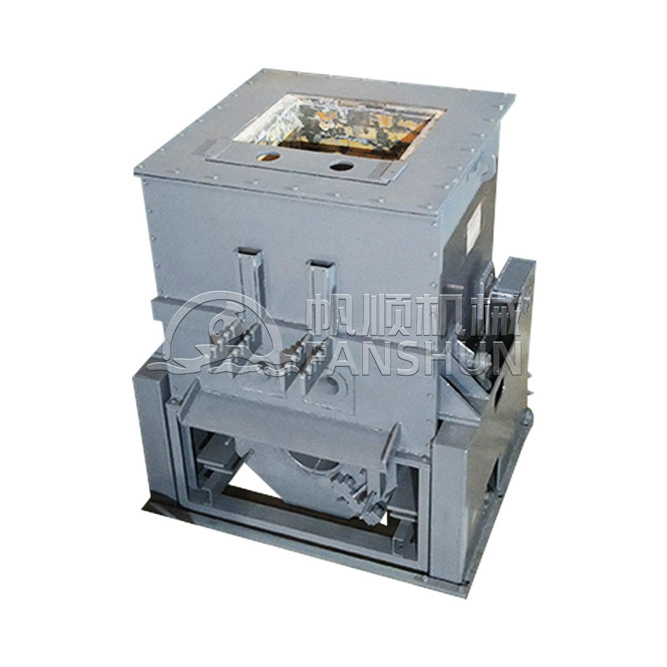 75KW hydraulic horizontal continuous casting post-dumping copper holding furnace