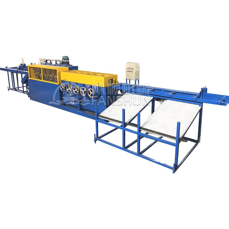 Brass Copper  Bronze Aluminum Square Hexagonal Bar Rod 22/24 wheel horizontal-Vertical type Straightening Machine