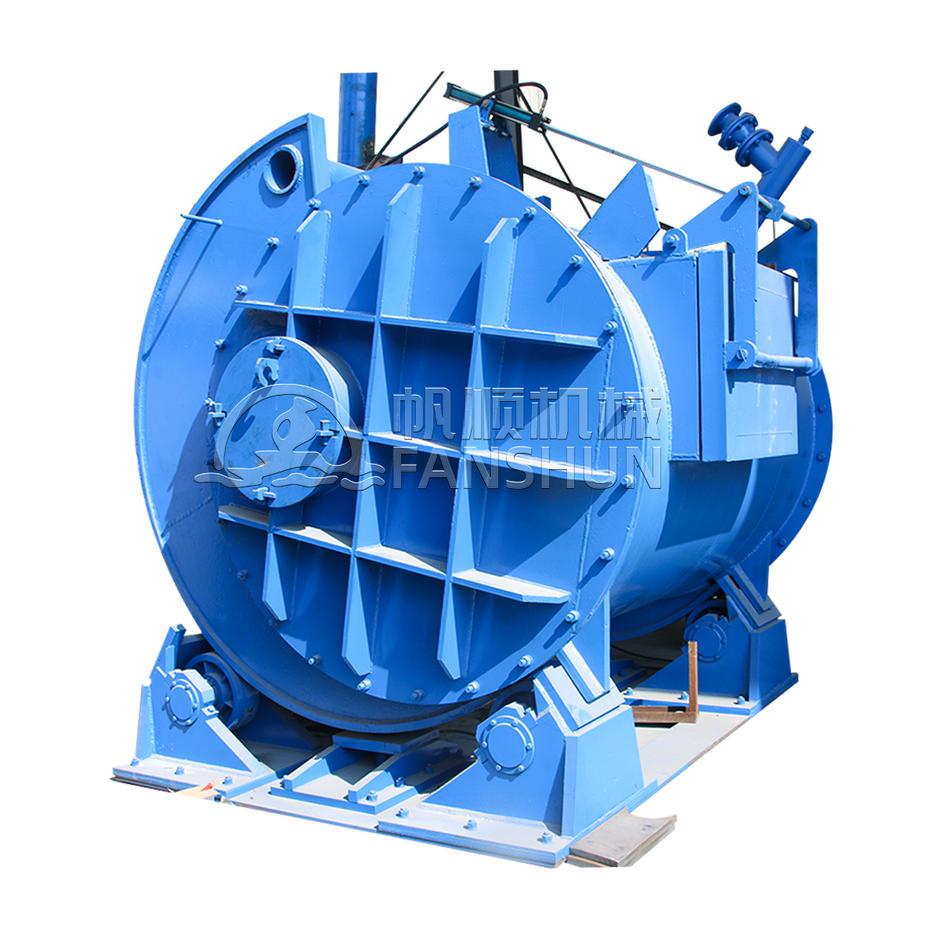 Eccentric tilting furnace