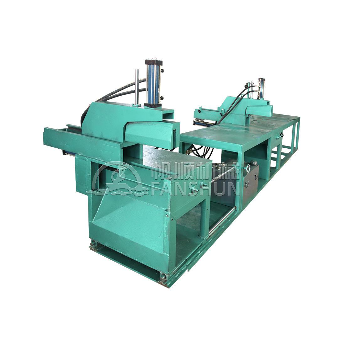 Copper rod segmentation cutting machine