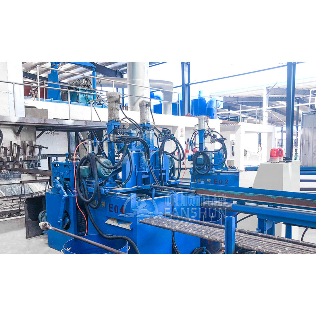 Brass bar Horizontal continuous casting production line
