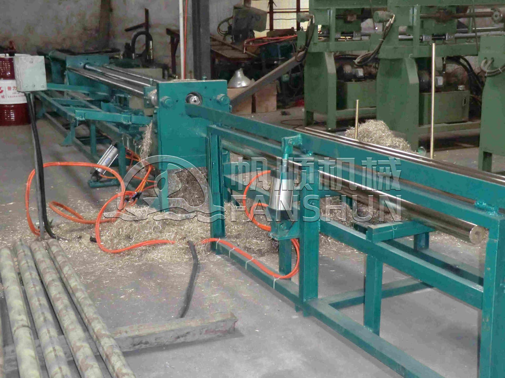 100mm Push Peeling Machine