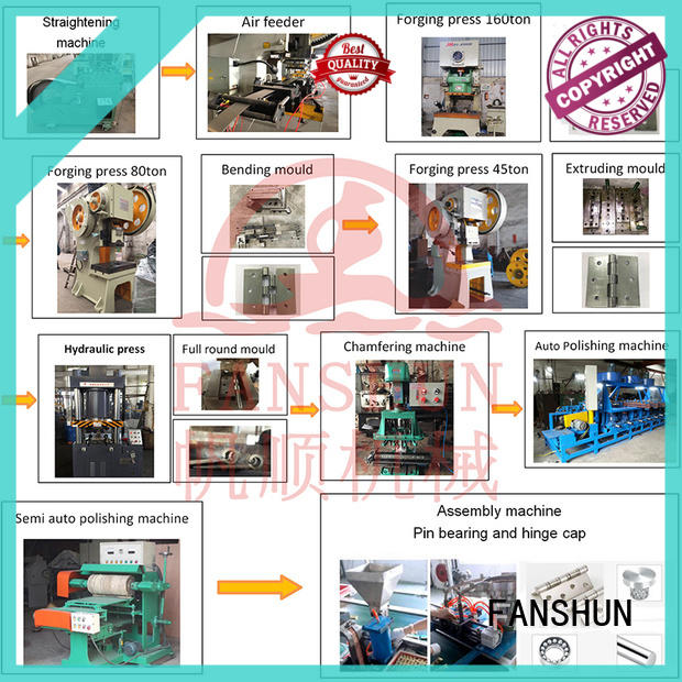 FANSHUN environmental straightening machine manufacturers in different color in industrial park