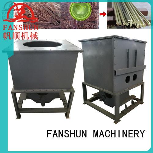 FANSHUN feeder brass billet equipment for brass production in factory