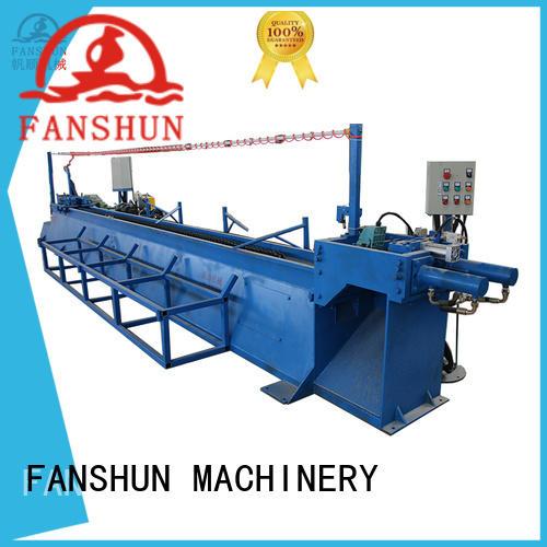 FANSHUN machine aluminium billet casting plant in factory