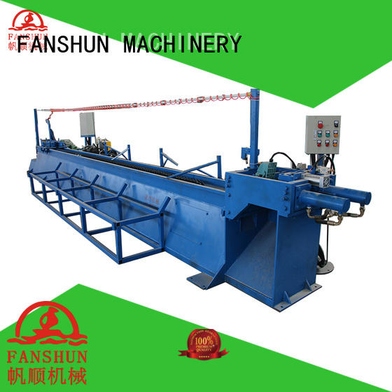 FANSHUN brass ball valve making machine from China in industrial park