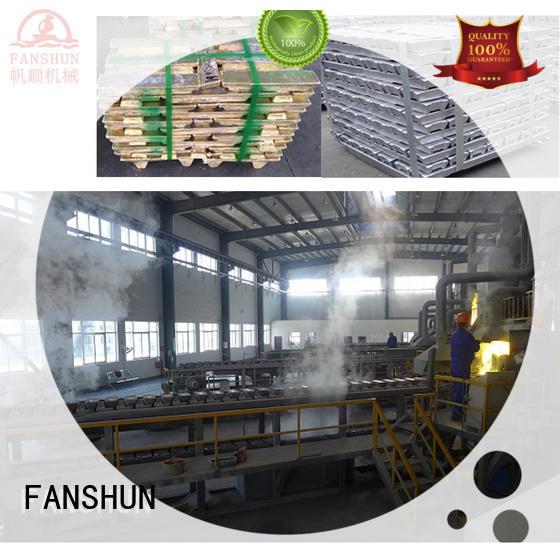FANSHUN affordable brass ingot making mahcine big in industrial park
