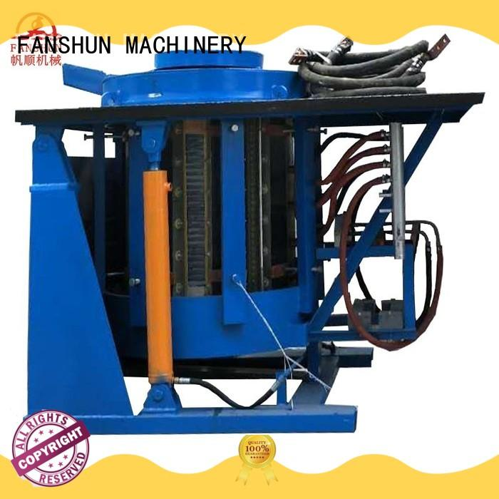 FANSHUN safety copper rod casting machine from China in industrial park