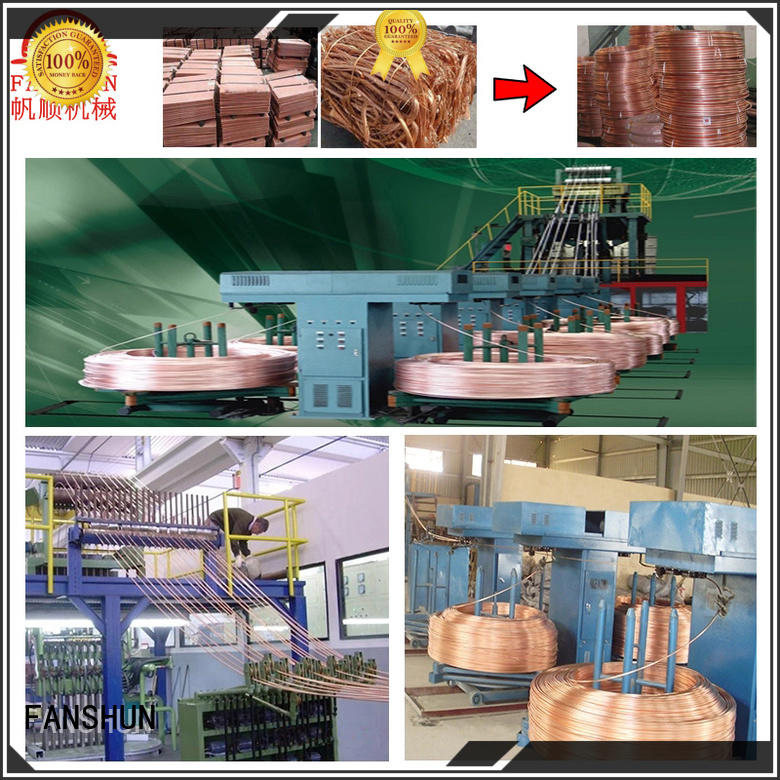 FANSHUN hot-sale continuous casting machine manufacturers induction in workhouse