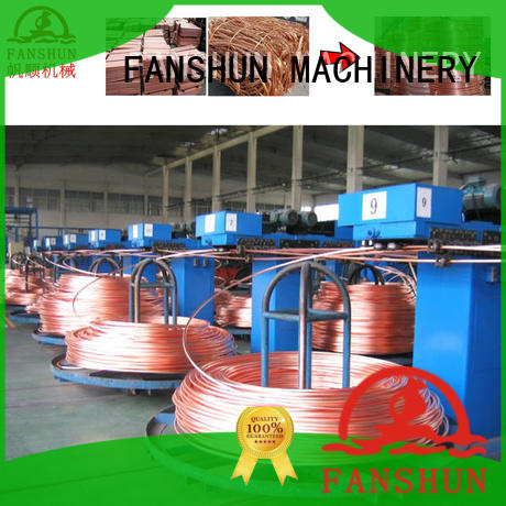 FANSHUN solid wire making mahcine for aluminium melting in factory