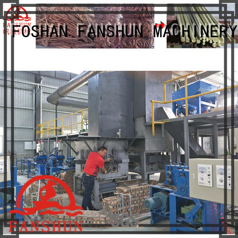 FANSHUN copper metal drilling machine for copper production in industrial park