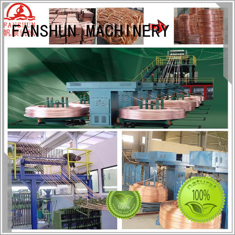 FANSHUN copper wire manufacturing machine production in workhouse