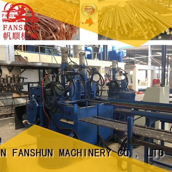 continuous casting machine manufacturers production rods Warranty FANSHUN
