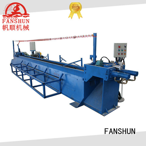 FANSHUN widely use bronze production line for copper rod in factory