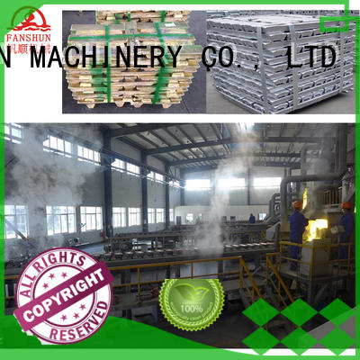 plant machine OEM aluminium melting furnace FANSHUN
