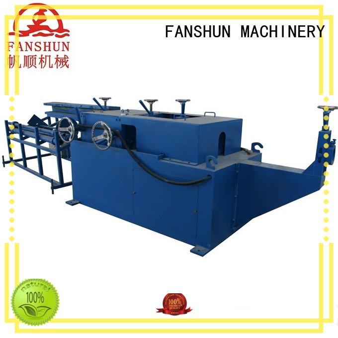 FANSHUN new-arrival copper casting machine for copper rod in industrial park