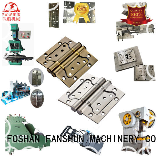FANSHUN affordable brass hinge making machine producer in factory