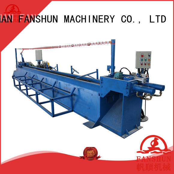 FANSHUN safety extrusion machine for aluminum bar in industrial park