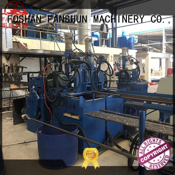 Hot ball valve manufacturing process line FANSHUN Brand