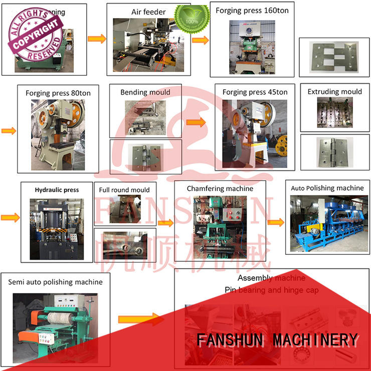 FANSHUN flush straightening machine manufacturers with many colors in industrial park