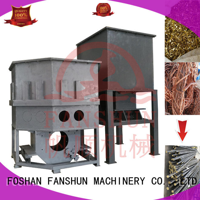 FANSHUN eco-friendly cnc milling machine for straightening hexagon bar in workhouse