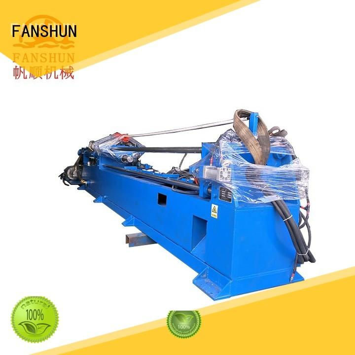FANSHUN solid copper continuous casting machine for square bar in industrial park