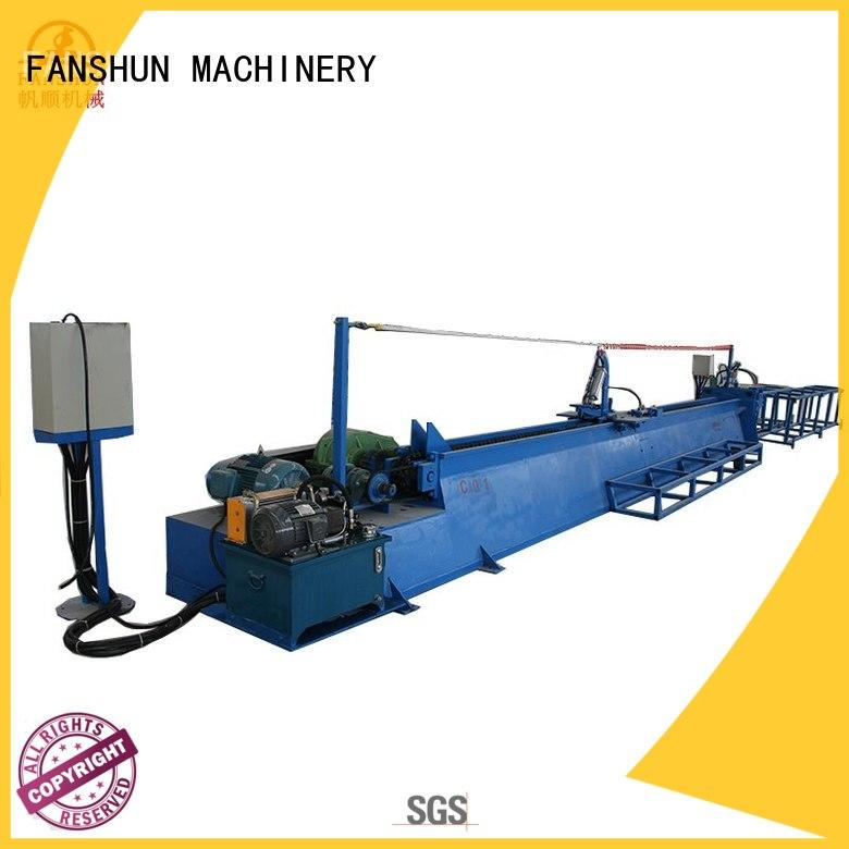 FANSHUN eco-friendly brass ball valve making machine for profiles brass bar in industrial park