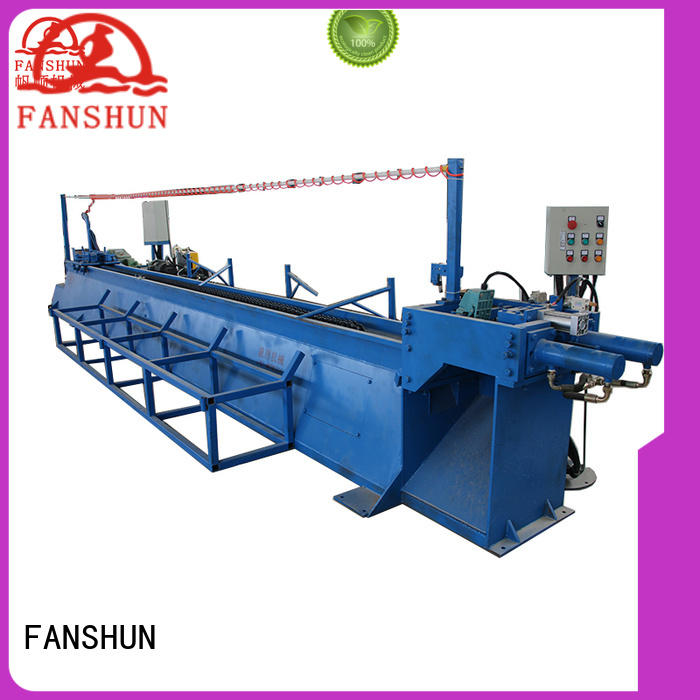 FANSHUN hot-sale billet making machine for copper production in workhouse