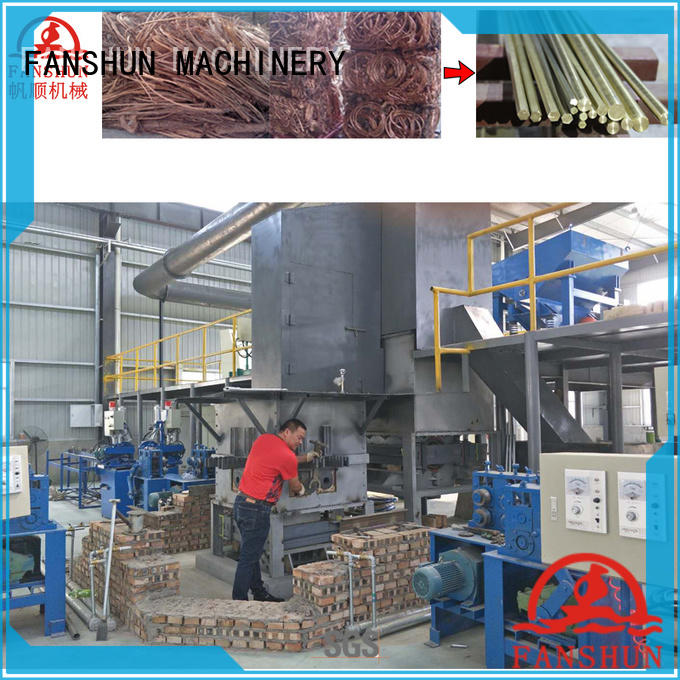 cost effective continuous extrusion machine rodbrass for brass rod in workhouse