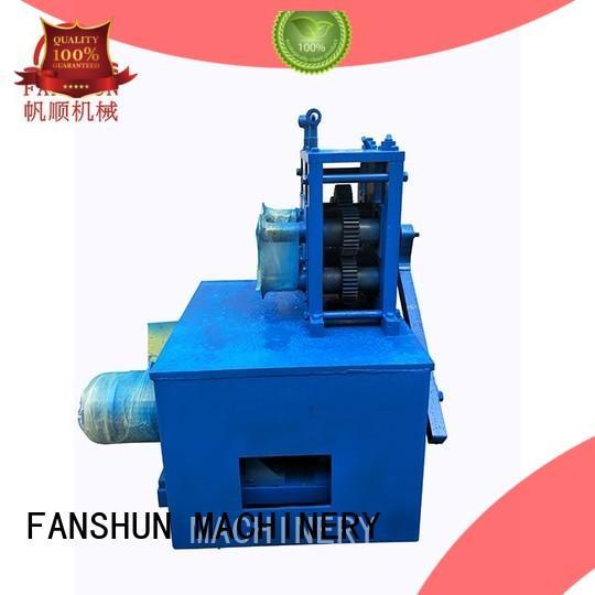 FANSHUN temperature padlock making mahcine for bronze tube production in workhouse