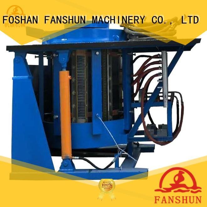 FANSHUN environmental billet making machine in workhouse
