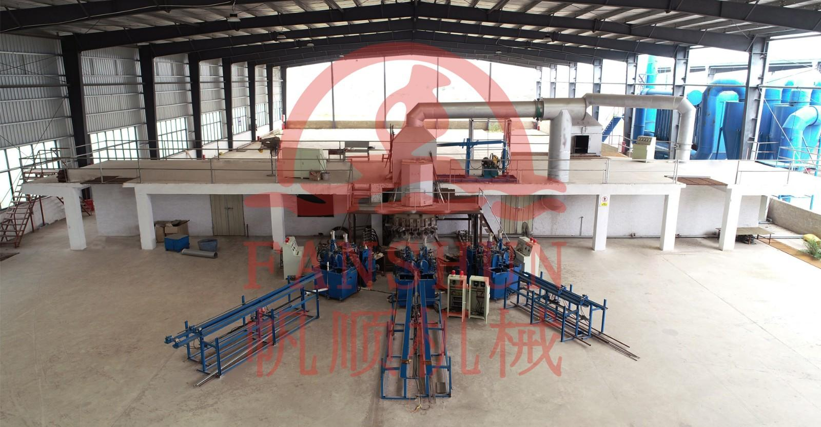 Horizontal continuous casting machine for bronze rods,copper rods production line manufacturers-1