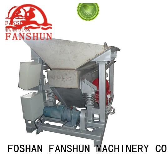 FANSHUN casting upwards continuous casting machines for alloy melting in workhouse