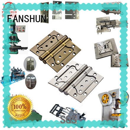 FANSHUN iron butt hinge making machinery for square bar in workhouse