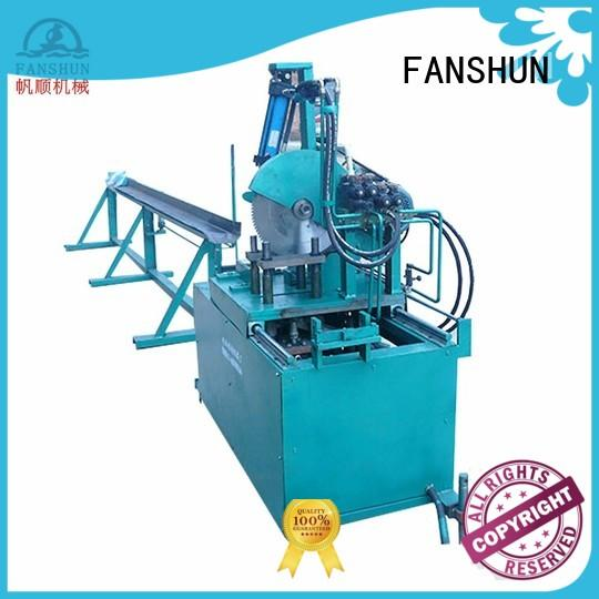 FANSHUN holding induction melting furnace for zinc in industrial park