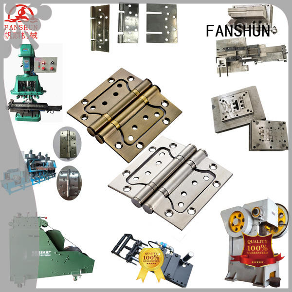 FANSHUN door hinge mahcines for copper production in industrial park