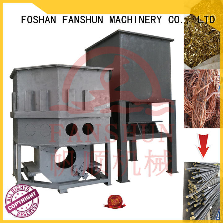 FANSHUN padlock drilling machine for brass production in industrial park