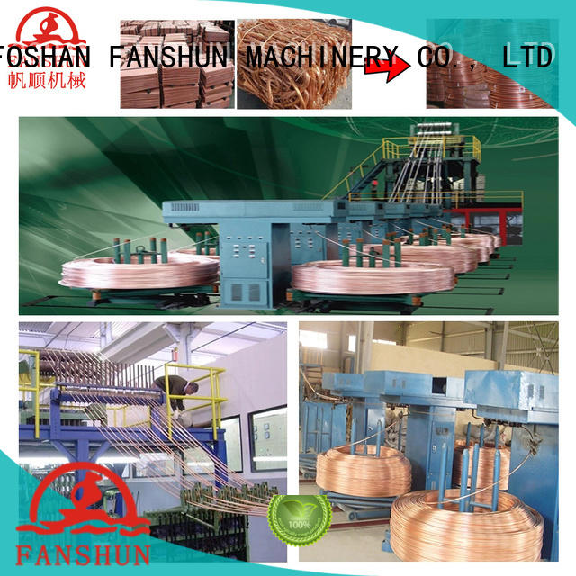 FANSHUN stable brass sheet plant with good price for gold