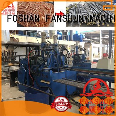 environmental rod straightening machine with good price for heat exchanger FANSHUN