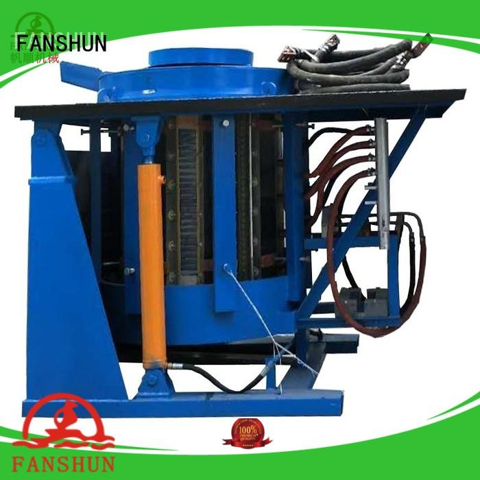 FANSHUN copper cnc lathe machine for straightening hexagon bar in industrial park