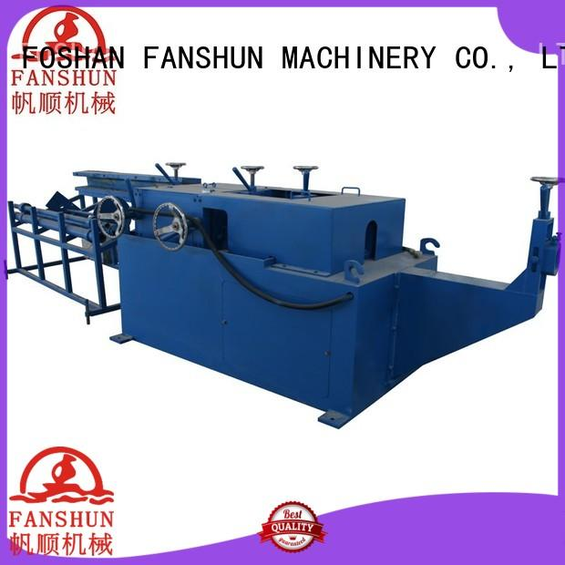 bars barshexagons straightening brass hinge making machine precision FANSHUN
