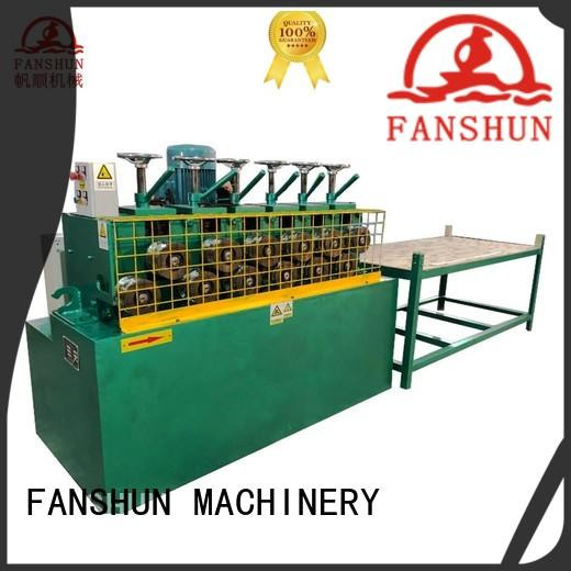 FANSHUN eco-friendly peeling machine for bronze tube production in factory