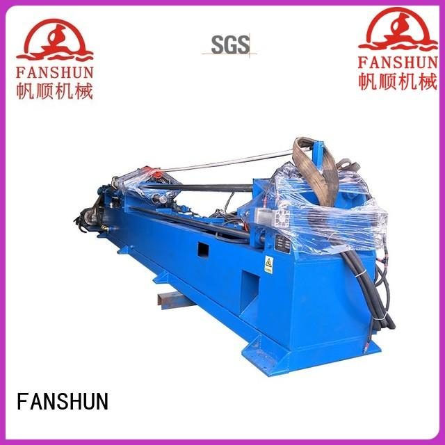 FANSHUN bag metal drilling machine for brass production in factory