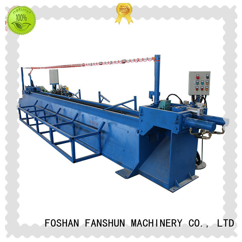 FANSHUN affordable induction forging machine for profiles brass bar in workhouse