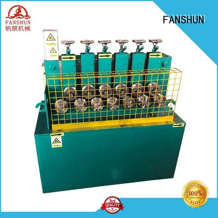 FANSHUN durable bronze casting machine for aluminum bar in factory