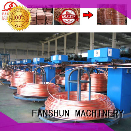 FANSHUN cost effective copper wire making machine for brass melting in industrial park